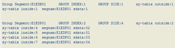 LOOP AT – GROUP – SAP Generation n><t…
